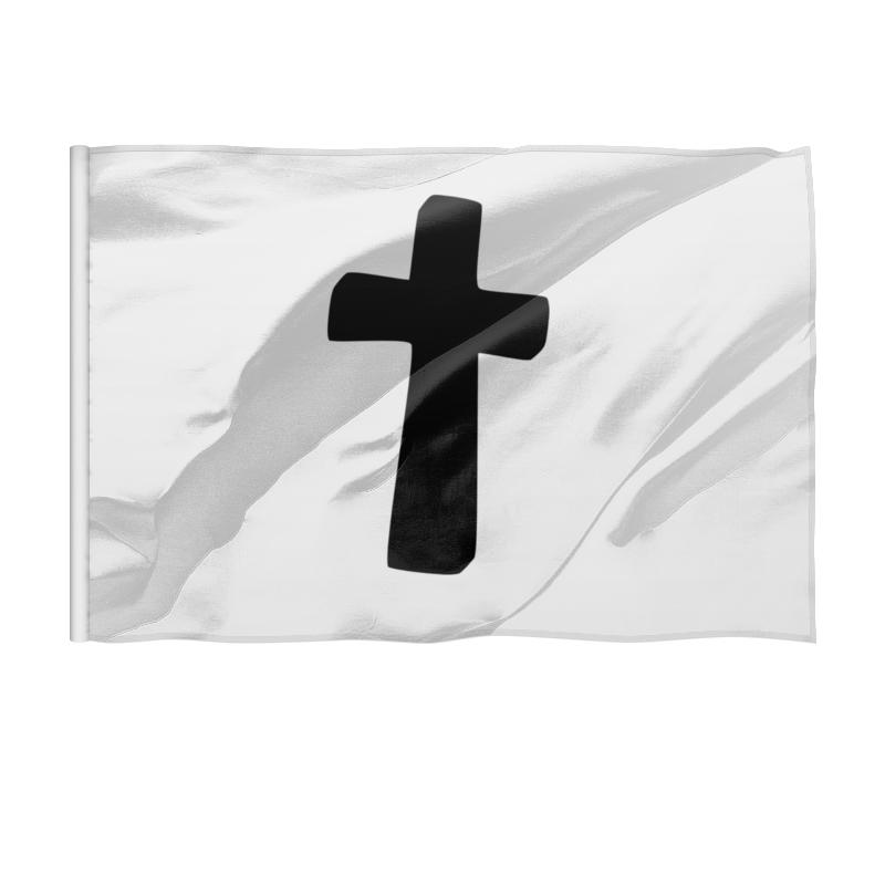 Printio Флаг 150×100 см Черный крест