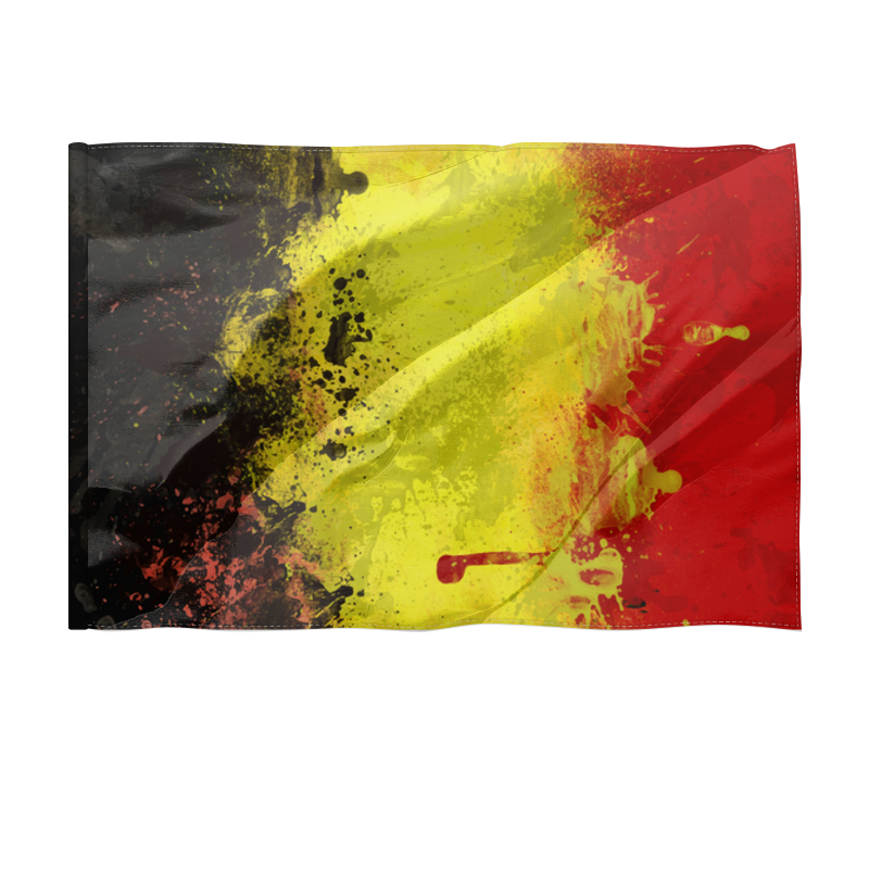 Printio Флаг 150×100 см Бельгия