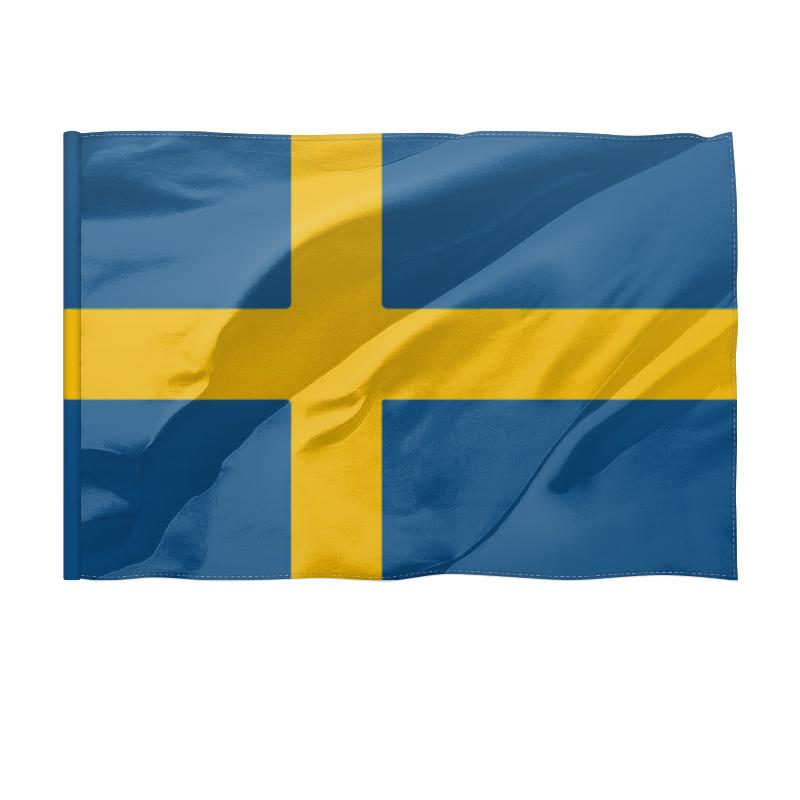 Printio Флаг 150×100 см Швеция