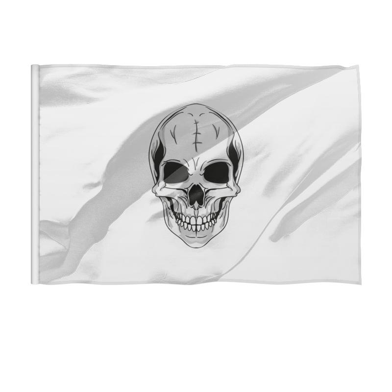 Printio Флаг 150×100 см Череп