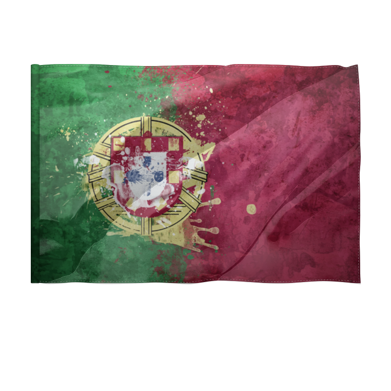 Printio Флаг 150×100 см Португалия