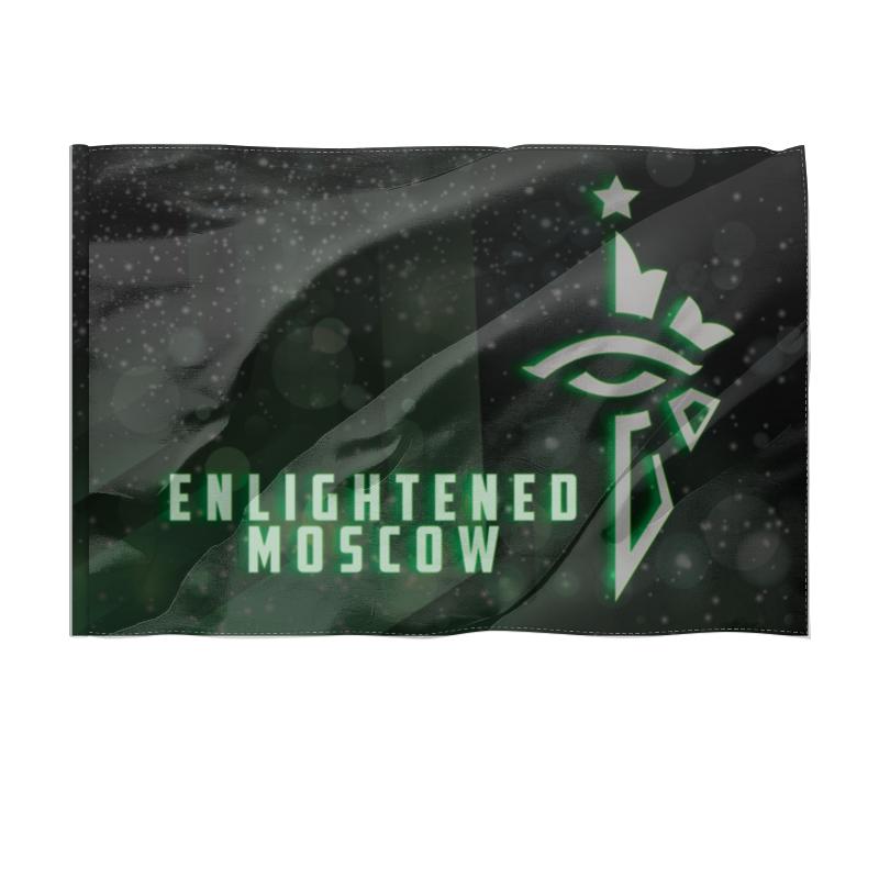 Printio Флаг 150×100 см Flag enlightened moscow