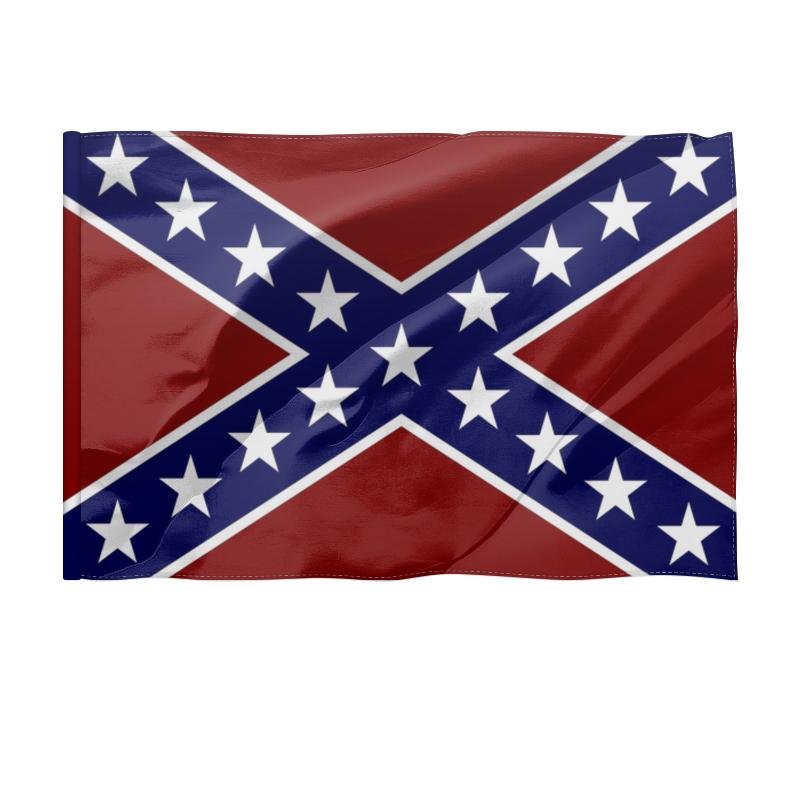 Printio Флаг 150×100 см Флаг конфедерации сша