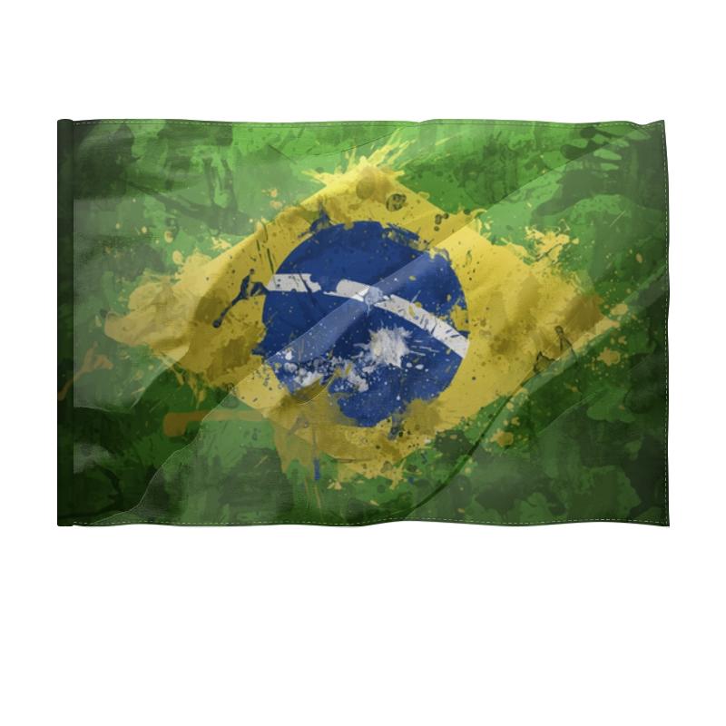 Printio Флаг 150×100 см Бразилия