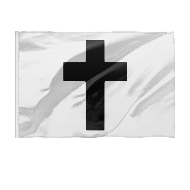 Printio Флаг 150×100 см Чёрный крест