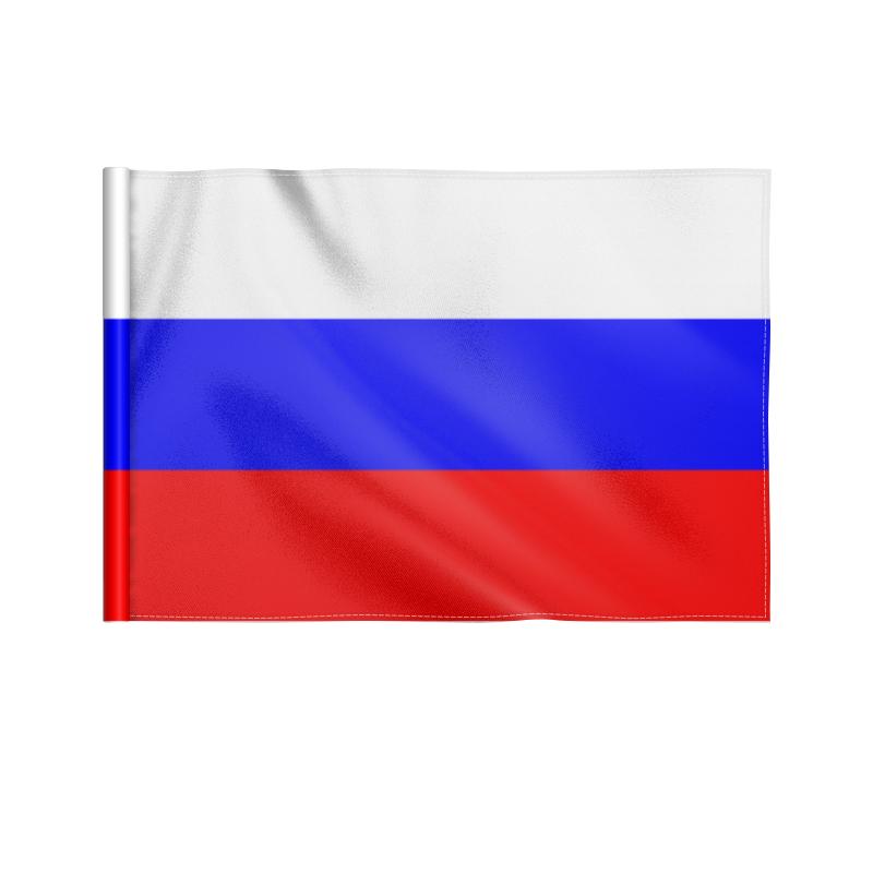 Printio Флаг 22×15 см Флаг россии