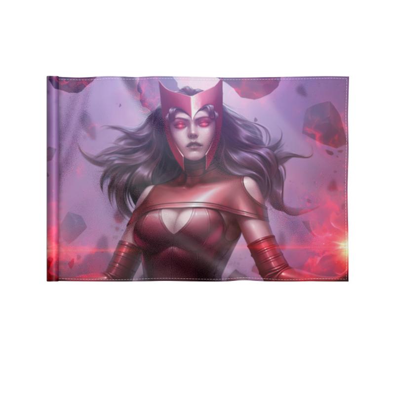 Printio Флаг 22×15 см Алая ведьма / scarlet witch