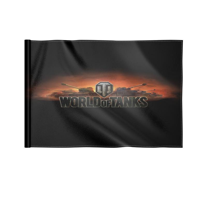 Printio Флаг 22×15 см Танки