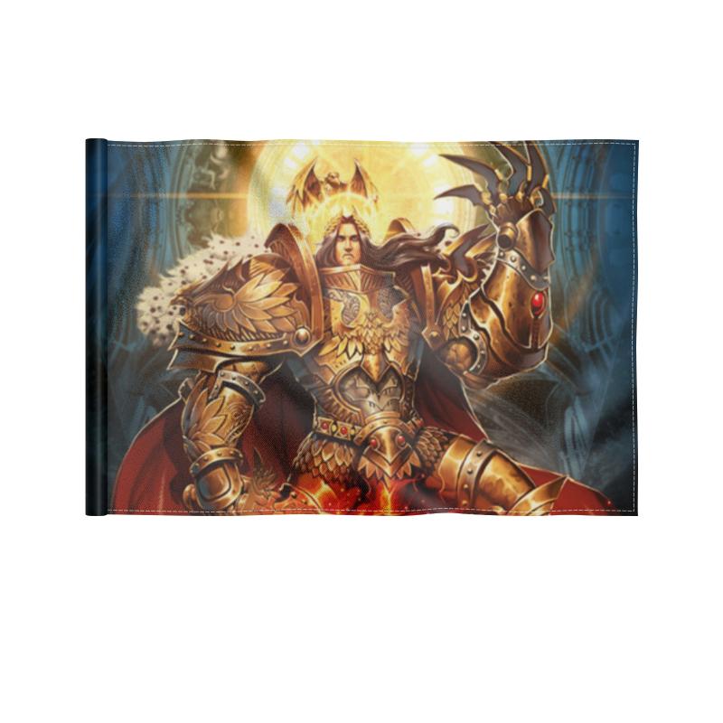 Printio Флаг 22×15 см Император человечества