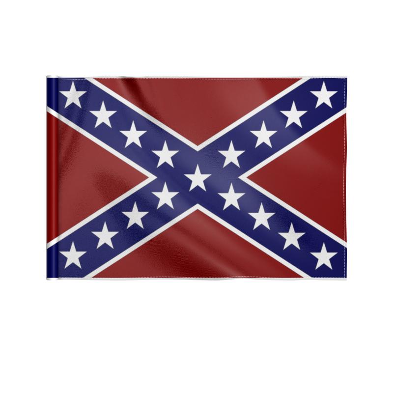 Printio Флаг 22×15 см Флаг конфедерации сша