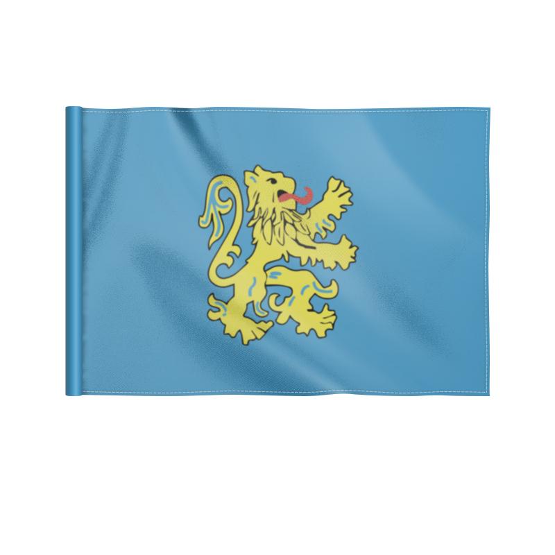 Printio Флаг 22×15 см Герб квартиры шелдона