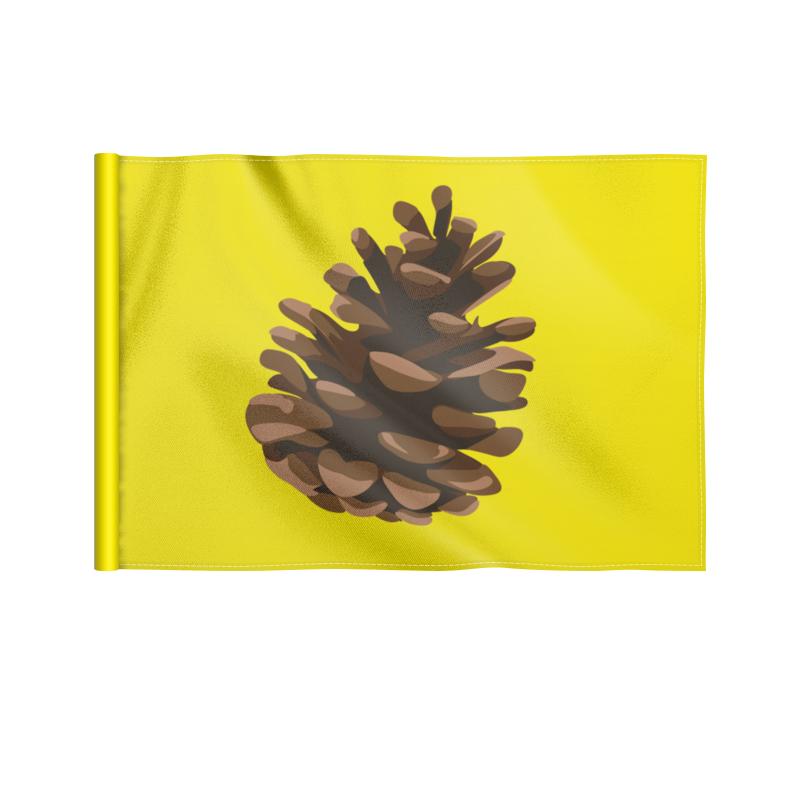 Printio Флаг 22×15 см Шишка