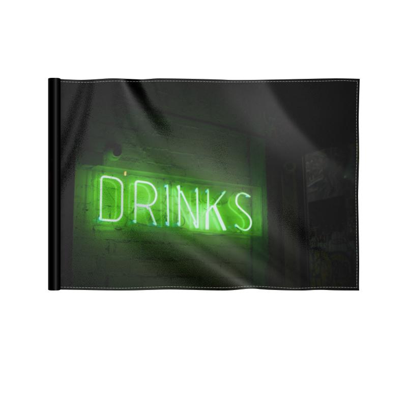 Printio Флаг 22×15 см Drinks