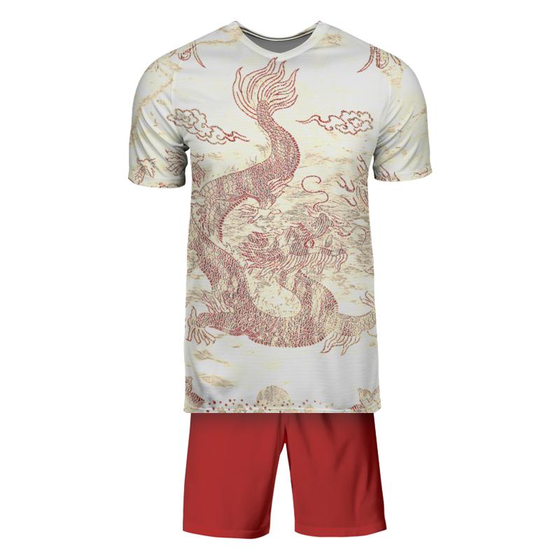 Printio Футбольная форма Красный дракон.