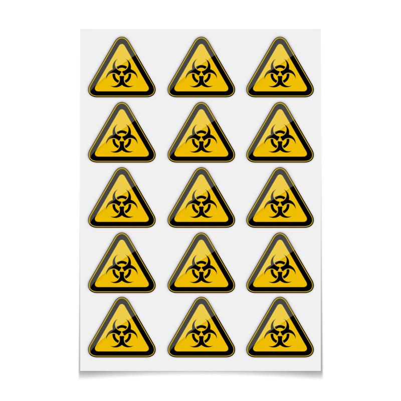 Фото - Printio Наклейки-свободная форма Biohazard printio наклейки свободная форма единорог