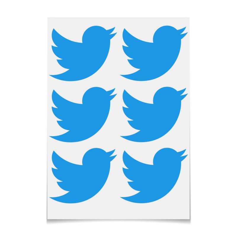 Фото - Printio Наклейки-свободная форма Твиттер printio наклейки свободная форма единорог