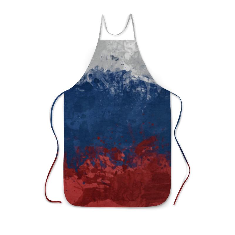 Фото - Printio Фартук с полной запечаткой Российский флаг пивная каска российский флаг