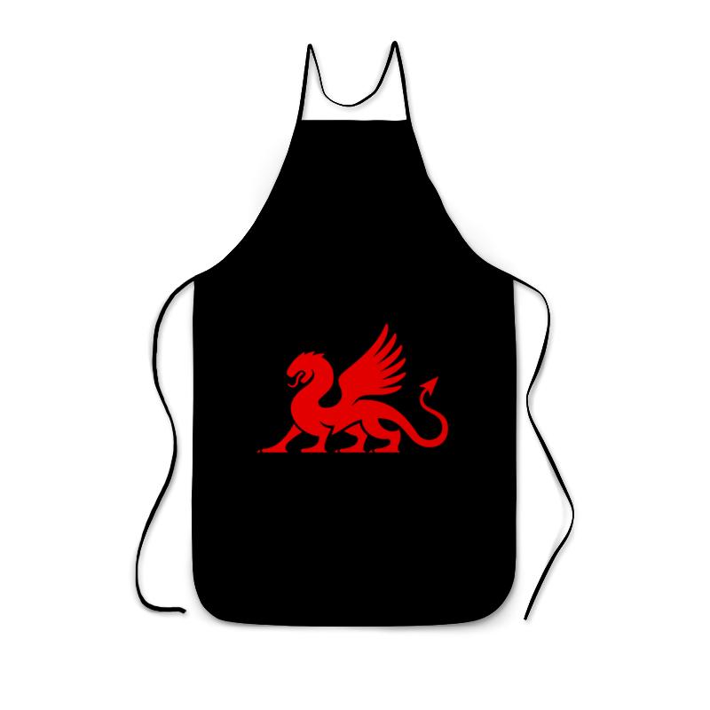 Printio Фартук с полной запечаткой Красный дракон