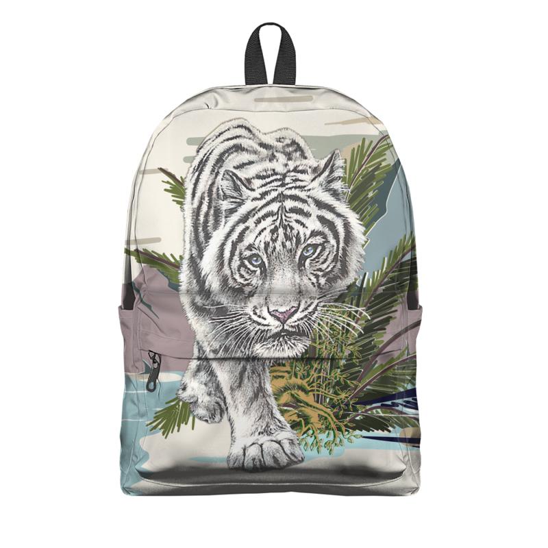 Printio Рюкзак 3D Белый тигр.