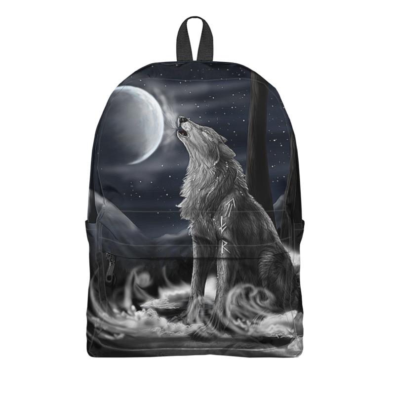 Printio Рюкзак 3D Волки фэнтези printio рюкзак 3d волки фэнтези седой волк