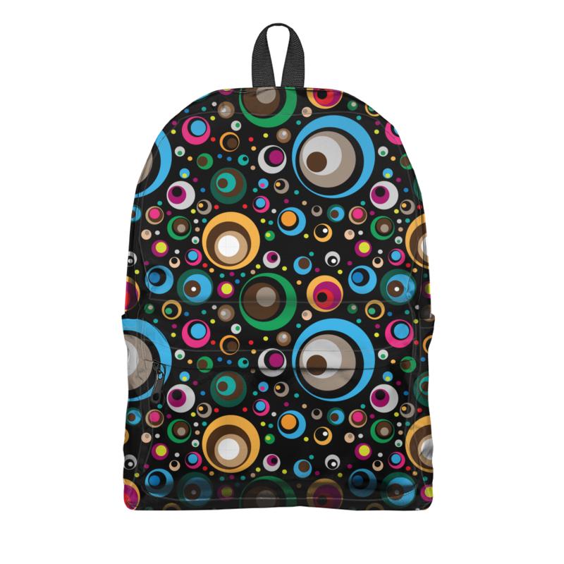 Printio Рюкзак 3D Разноцветные круги