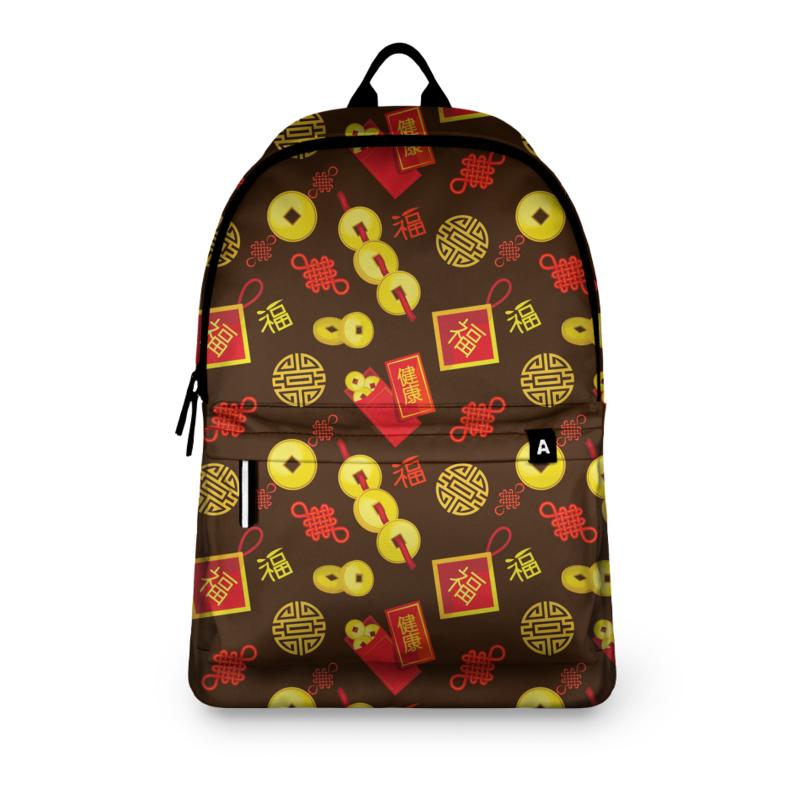 Фото - Printio Рюкзак 3D Китайские символы удачи и достатка printio рюкзак мешок с полной запечаткой китайские символы удачи и достатка