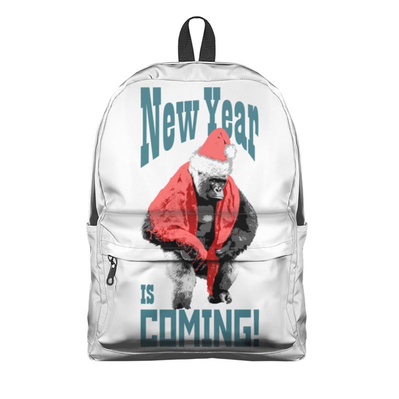 Printio Рюкзак 3D Новый год идет!