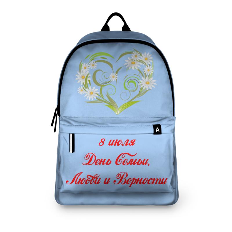 Фото - Printio Рюкзак 3D День семьи, любви и верности printio рюкзак 3d день победы