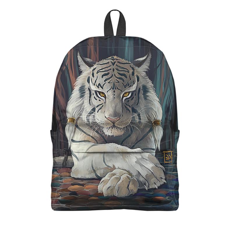 Фото - Printio Рюкзак 3D Тигры фэнтези. белый тигр футболка классическая printio football baymax