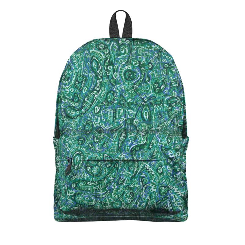 Фото - Printio Рюкзак 3D Бирюзовый printio рюкзак 3d бирюзовый