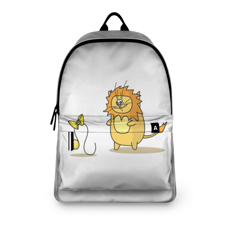 Фото - Printio Рюкзак 3D Кот лев. подарок для льва подарок