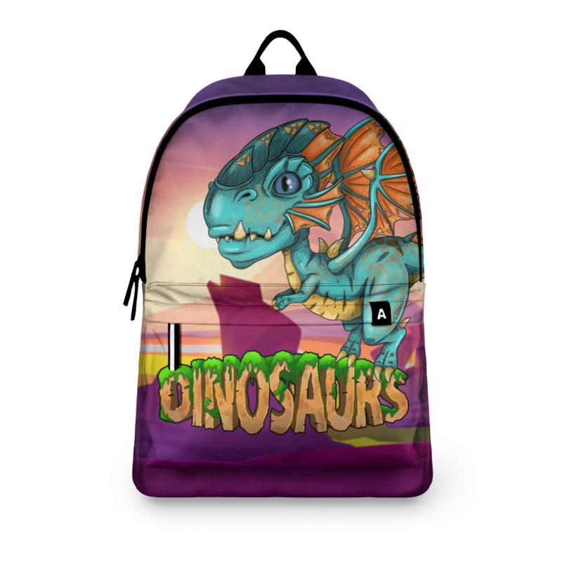 Printio Рюкзак 3D Динозаврики