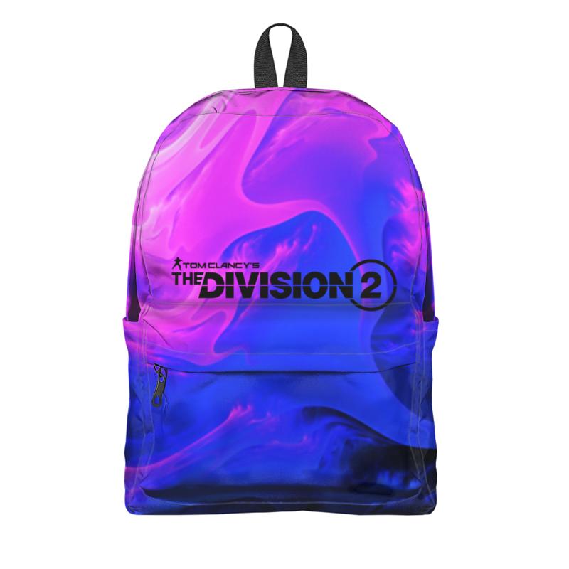 Фото - Printio Рюкзак 3D Division 2 printio рюкзак 3d кошачий рок 2