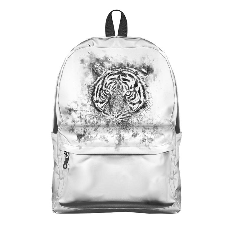 Printio Рюкзак 3D Белый тигр