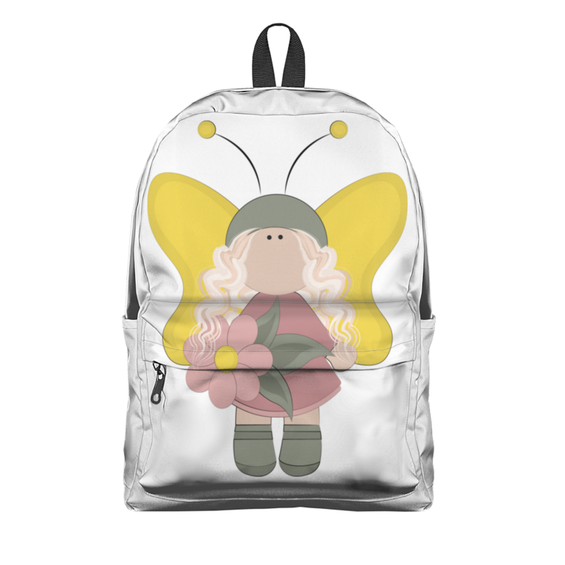 Фото - Printio Рюкзак 3D Фея с желтыми крыльями printio плакат a3 29 7×42 модная девушка в платке фэшн иллюстрация