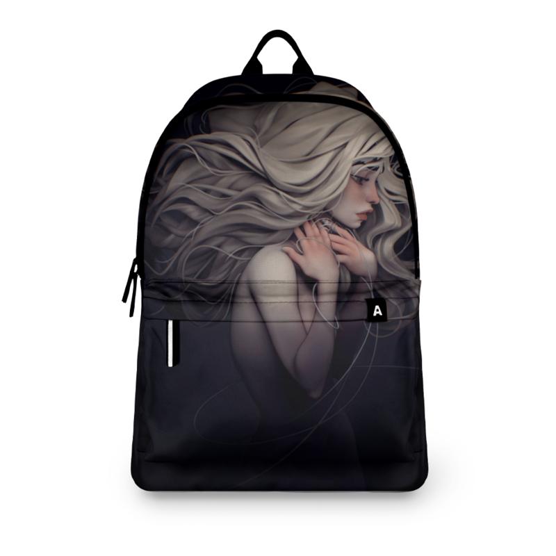 Фото - Printio Рюкзак 3D Девушка-призрак printio плакат a3 29 7×42 модная девушка в платке фэшн иллюстрация