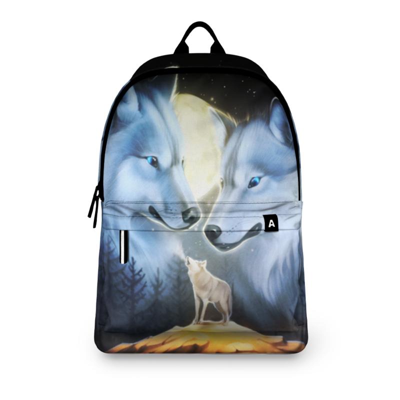 Printio Рюкзак 3D Волки printio рюкзак 3d волки фэнтези седой волк