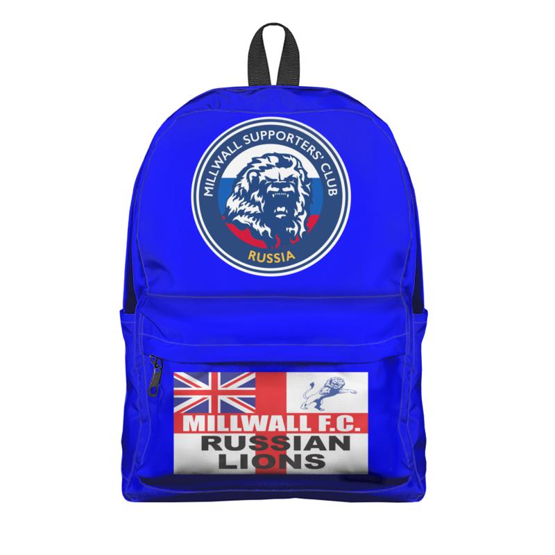 Printio Рюкзак 3D Millwall msc russia bag