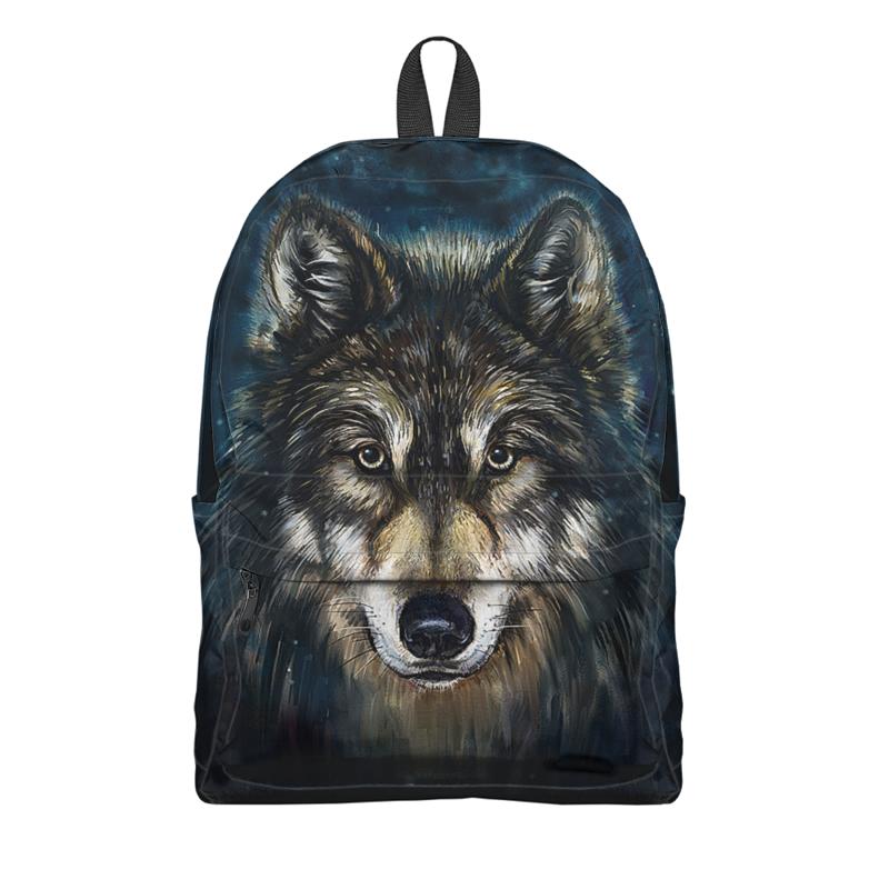 Printio Рюкзак 3D Волки фэнтези. седой волк printio рюкзак 3d волки фэнтези седой волк