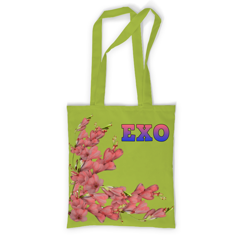 Printio Сумка с полной запечаткой Exo красные цветы printio сумка с абстрактным рисунком