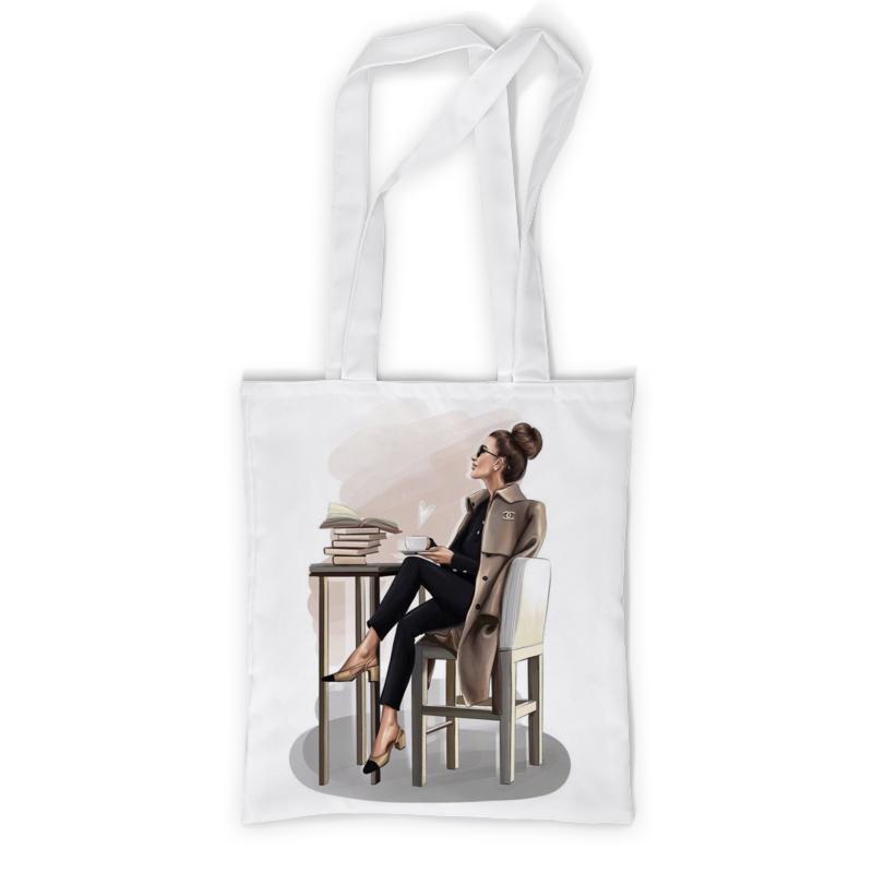 Printio Сумка с полной запечаткой Be happy and smile printio сумка с абстрактным рисунком