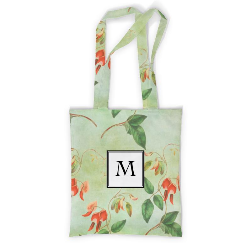 Printio Сумка с полной запечаткой Монограмма printio сумка с абстрактным рисунком