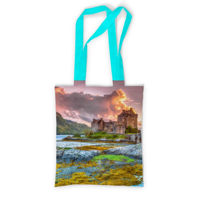 Фото - Printio Сумка с полной запечаткой Замок в шотландии набор полесье замок башня замок стена с двумя башнями замок мост 37251