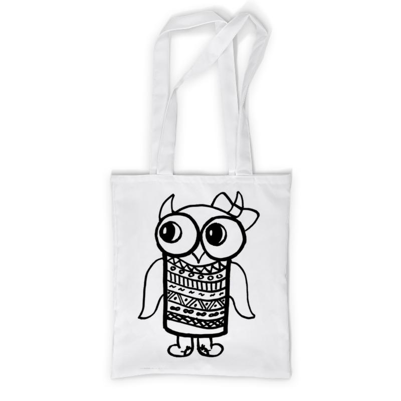 Printio Сумка с полной запечаткой Сова - модница printio сумка с абстрактным рисунком