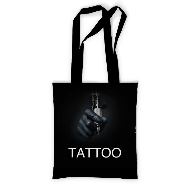 Printio Сумка с полной запечаткой Мастер татуировок. printio сумка с абстрактным рисунком