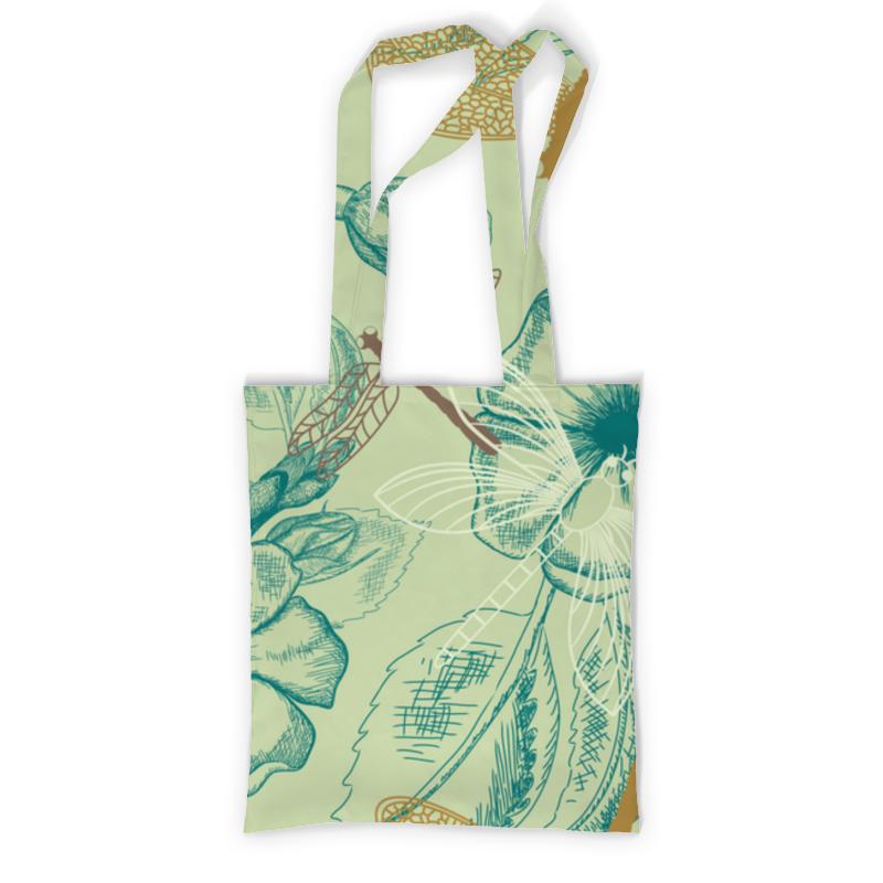 Printio Сумка с полной запечаткой Флора и фауна printio сумка с абстрактным рисунком