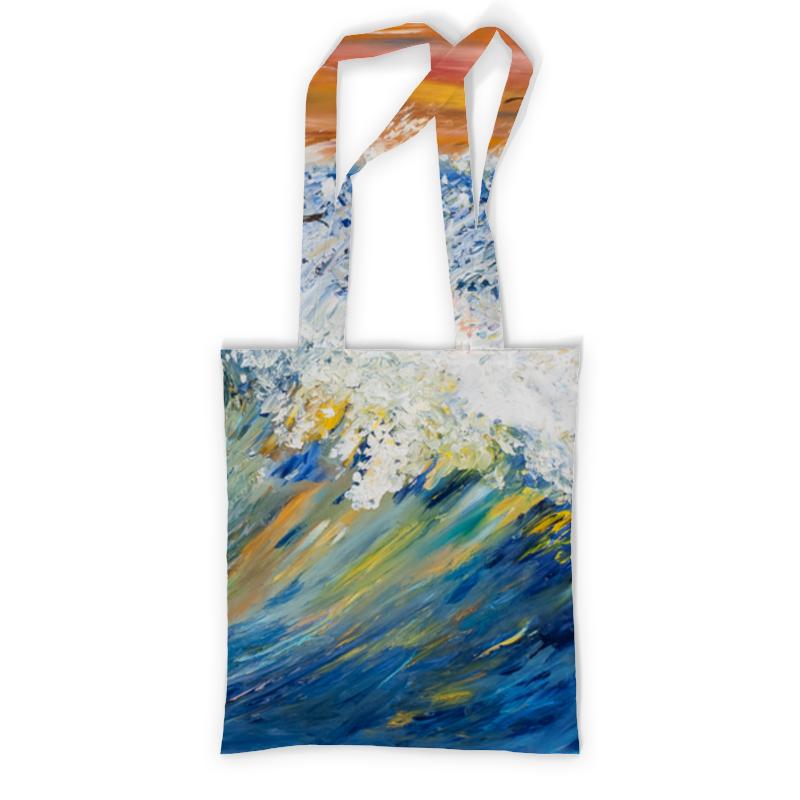 Printio Сумка с полной запечаткой Волна printio сумка с абстрактным рисунком