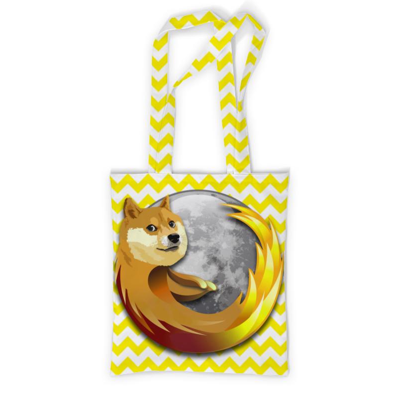 Printio Сумка с полной запечаткой Doge firefox printio сумка с абстрактным рисунком
