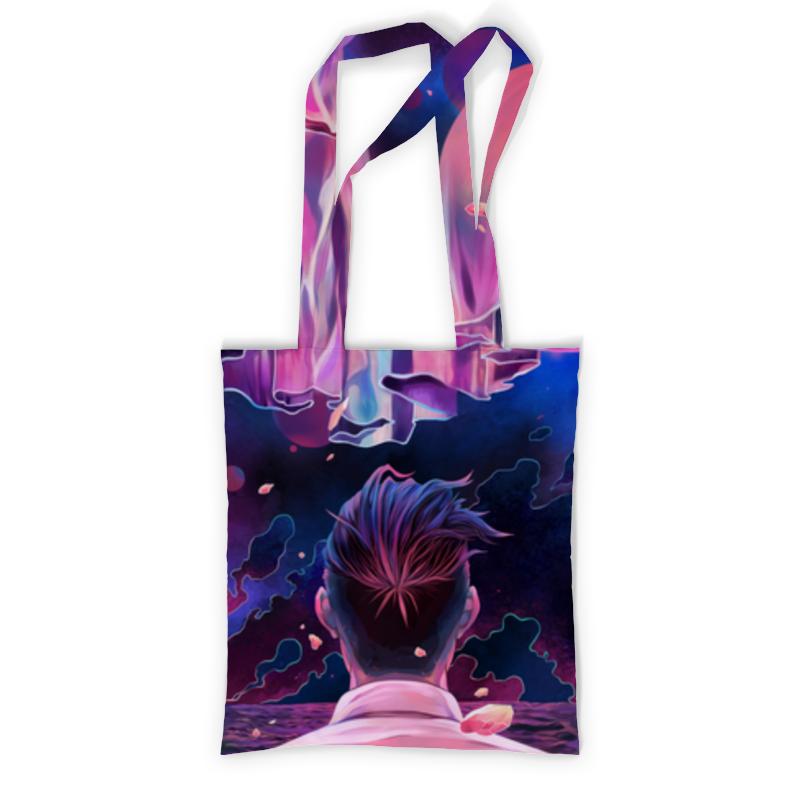 Printio Сумка с полной запечаткой Один во вселенной printio сумка с абстрактным рисунком