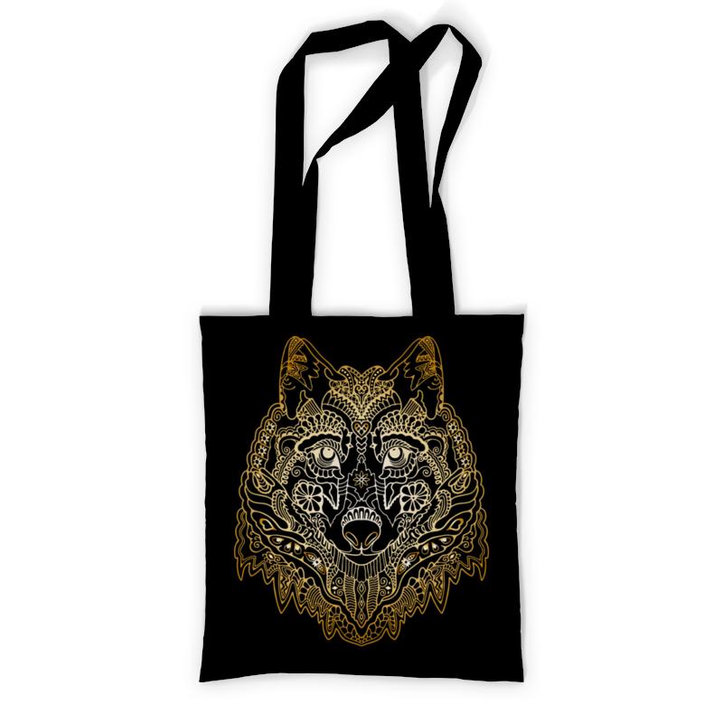 Printio Сумка с полной запечаткой Голова волка printio сумка с абстрактным рисунком